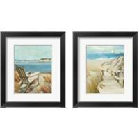 Framed Seascape 2 Piece Framed Art Print Set