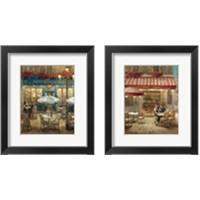 Framed Paris Cafe 2 Piece Framed Art Print Set