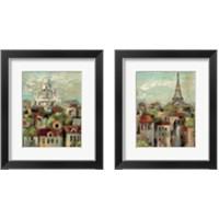 Framed Spring in Paris 2 Piece Framed Art Print Set