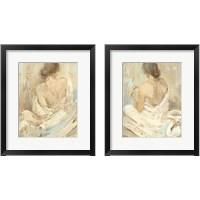 Framed Abstract Figure Study 2 Piece Framed Art Print Set