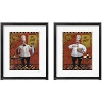 Framed Chef Master Design 2 Piece Framed Art Print Set