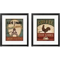 Framed Coffee 2 Piece Framed Art Print Set