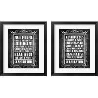 Framed Grandparents - Chalkboard 2 Piece Framed Art Print Set