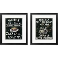 Framed Mom's Kitchen 2 Piece Framed Art Print Set