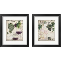 Framed Chateau Plout Wine 2 Piece Framed Art Print Set