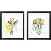 Framed Smarty-Pants Animal 2 Piece Framed Art Print Set