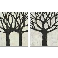 Framed Batik Arbor 2 Piece Art Print Set