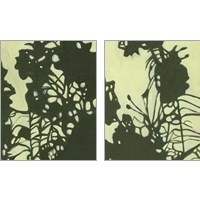 Framed Exotic Silhouette 2 Piece Art Print Set
