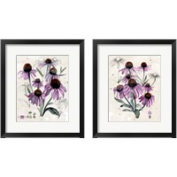 Framed Purple Wildflowers 2 Piece Framed Art Print Set