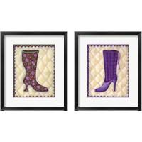 Framed Boots 2 Piece Framed Art Print Set