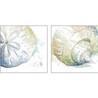 Framed Water Sea Life 2 Piece Art Print Set