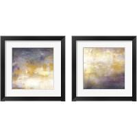 Framed Sunrise Abstract 2 Piece Framed Art Print Set