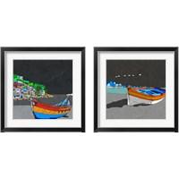 Framed Boat Ride along the Coast 2 Piece Framed Art Print Set