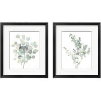 Framed Eucalyptus Cool 2 Piece Framed Art Print Set