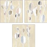 Framed String Garden 3 Piece Art Print Set