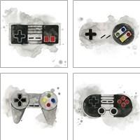 Framed Gamer  4 Piece Art Print Set