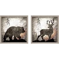 Framed Calling Wildlife 2 Piece Framed Art Print Set