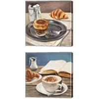 Framed Morning Coffee 2 Piece Canvas Print Set