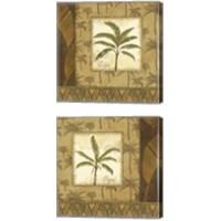 Framed Palmier Tropical 2 Piece Canvas Print Set
