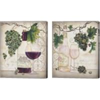 Framed Chateau Plout Wine 2 Piece Canvas Print Set