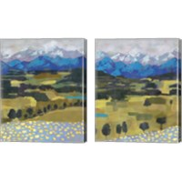 Framed Alpine Impression 2 Piece Canvas Print Set