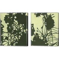 Framed Exotic Silhouette 2 Piece Canvas Print Set