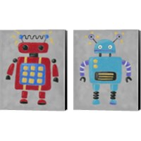 Framed Take me to your leader 2 Piece Canvas Print Set
