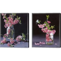 Framed Quince & Ruby 2 Piece Canvas Print Set