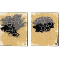 Framed Disco Lemon Juice 2 Piece Canvas Print Set