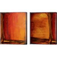 Framed Red Dawn 2 Piece Canvas Print Set