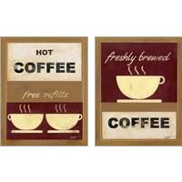 Framed Hot Coffee 2 Piece Art Print Set