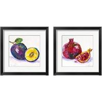 Framed Edibles  2 Piece Framed Art Print Set