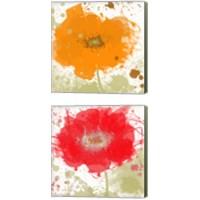 Framed Modern Colors 2 Piece Canvas Print Set