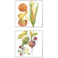 Framed Harvest Medley 2 Piece Canvas Print Set
