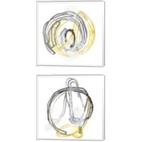 Framed String Orbit 2 Piece Canvas Print Set