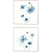 Framed Protea Blue 2 Piece Canvas Print Set