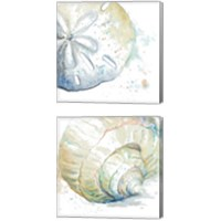 Framed Water Sea Life 2 Piece Canvas Print Set