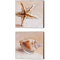 Framed Copper Sea Life 2 Piece Canvas Print Set