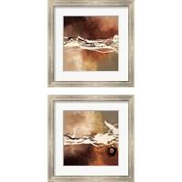 Framed Copper Melody 2 Piece Framed Art Print Set