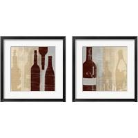 Framed Bordeaux  2 Piece Framed Art Print Set