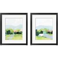 Framed Spring Walk 2 Piece Framed Art Print Set