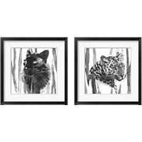 Framed Still Cat 2 Piece Framed Art Print Set