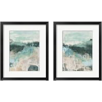 Framed Emerald Vista 2 Piece Framed Art Print Set