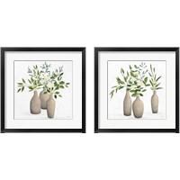 Framed Natural Bouquet 2 Piece Framed Art Print Set