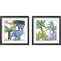 Framed Dino Buddies 2 Piece Framed Art Print Set