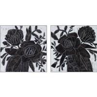 Framed Chalkboard Garden 2 Piece Art Print Set