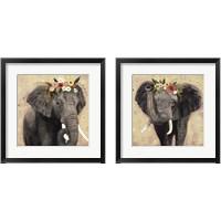 Framed Klimt Elephant 2 Piece Framed Art Print Set