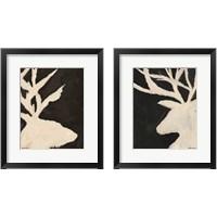 Framed Deer & Elk 2 Piece Framed Art Print Set