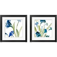 Framed Teal Belles2 Piece Framed Art Print Set