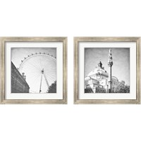 Framed London Sights 2 Piece Framed Art Print Set